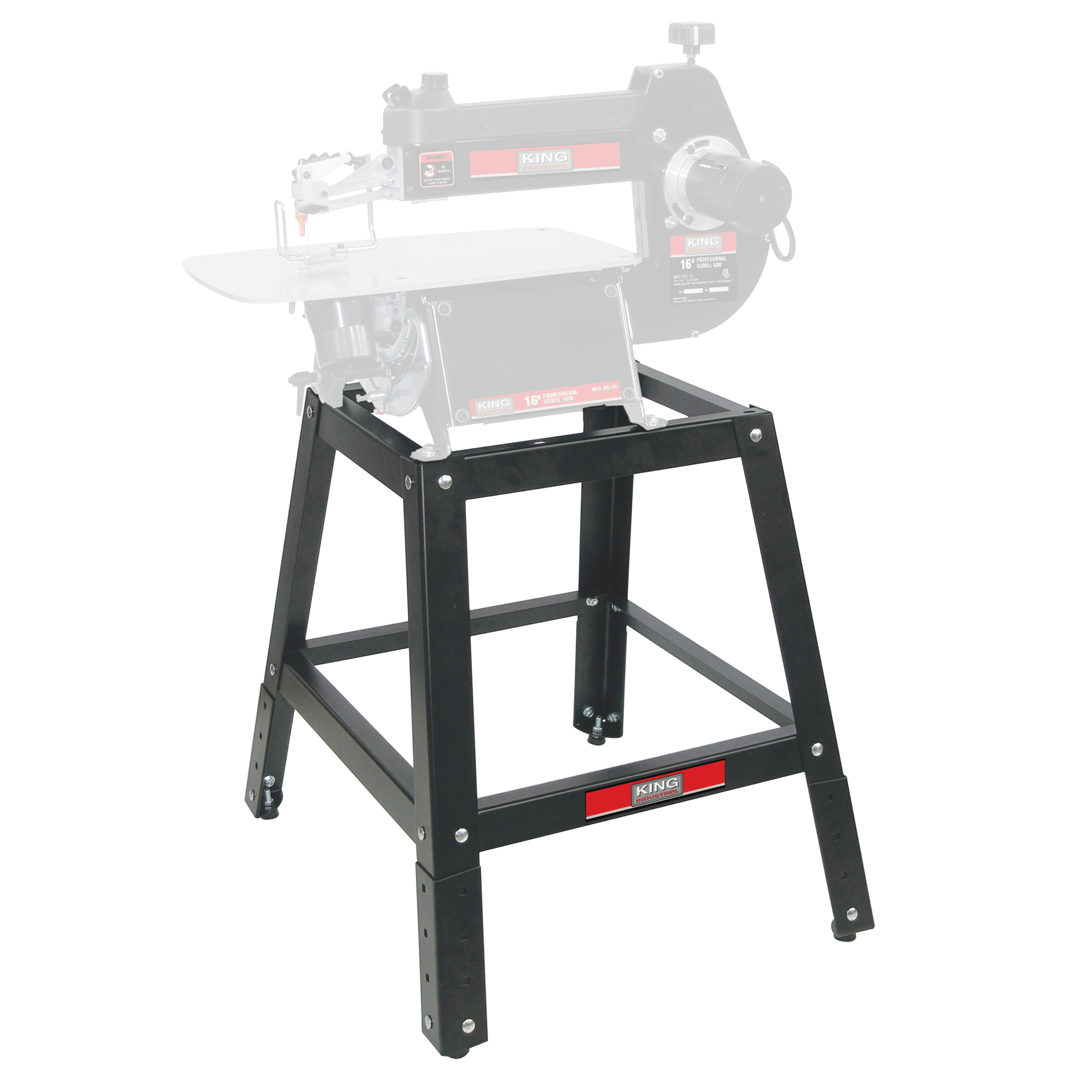 Stand for King Industrial 16 or 21 Inch Scroll Saw, Stand Only by King Global Sourcing Inc