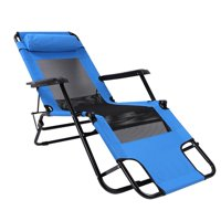 OTVIAP Lengthening and Widening Mesh Folding Chair Leisure Beach Chair Outdoor, Lounge Chair   Outdoor, Outdoor Lounge Chair