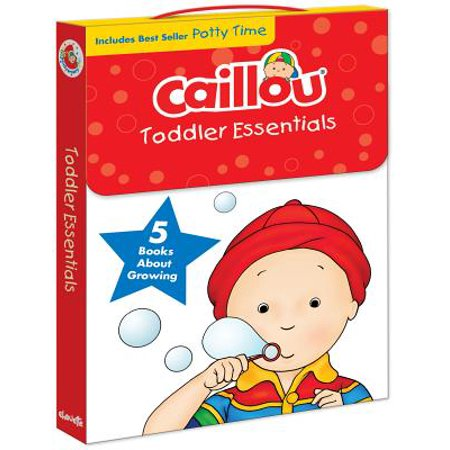 Caillou, Toddler Essentials : 5 Books about Growing