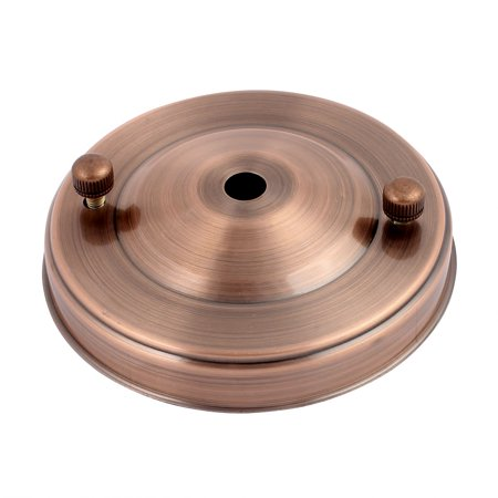105mmx25mm Ceiling Plate Chassis Base Pendant Light Accessories Copper -