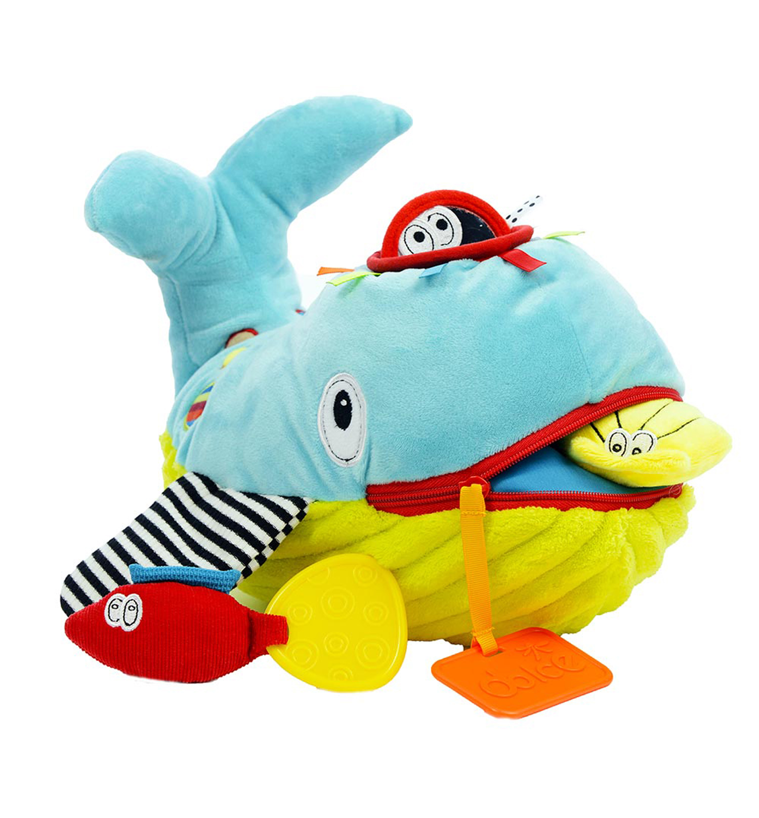 Dolce Play & Learn Whale Plush by Dolce