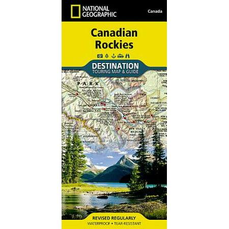 Canadian Rockies Destination Guide Map: