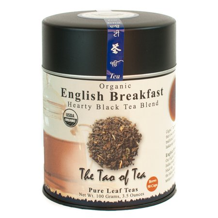 The Tao of Tea, Organic English Breakfast Tea, Loose Leaf Tea, 3.5 Oz Tin