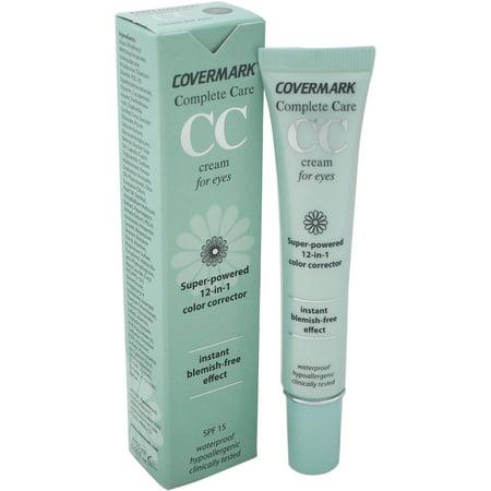 Covermark pour les femmes Complete Care crème pour les yeux CC SPF 15 étanche beige clair, 0,51 oz