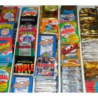 HUGE Lot of 100 Unopened Old Vintage Baseball Cards in Wax Cello Rack Packs | Superior Sports Investments