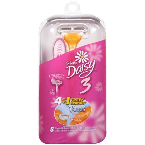 Gillette Daisy, Disposables, 5ct