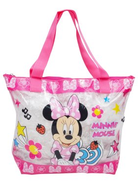 eab44472d Product Image Minnie Mouse Clear PVC Large Beach Tote Pink