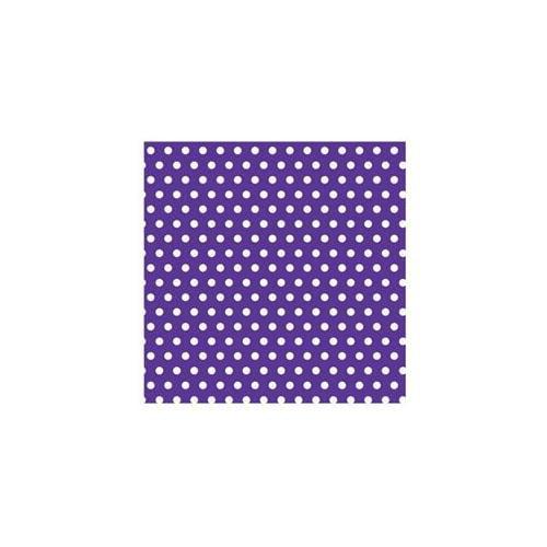Purple with Polka Dot Jumbo Gift Wrap