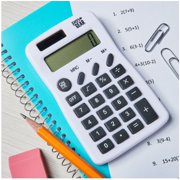 Pen + Gear 8-Digit Handheld Calculator, White, Office