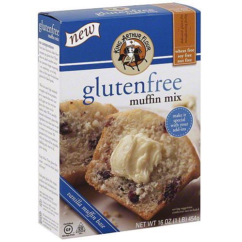 King Arthur Flour Gluten-Free Muffin Mix, 18 oz (Pack of 6)