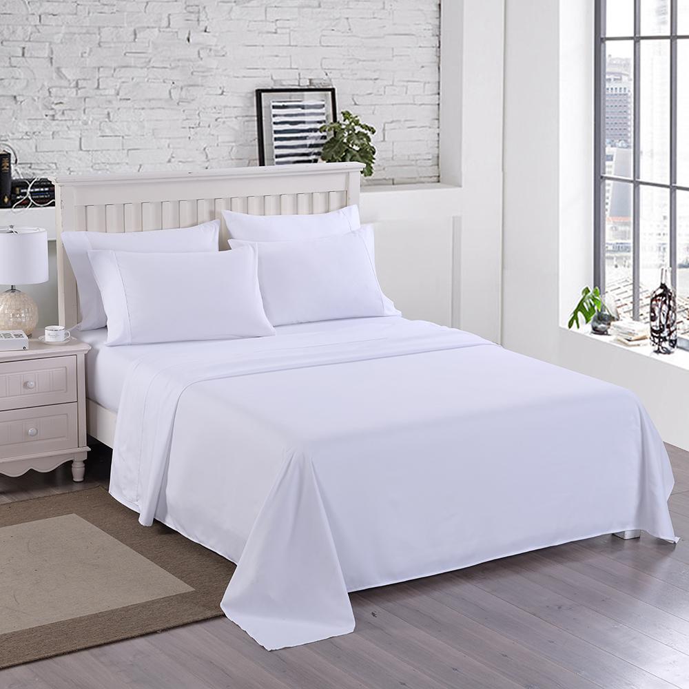 6-Pieces 3000TC Soft Microfiber Bed Sheet Set