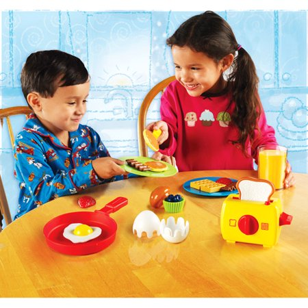Learning Resources Rise And Shine Breakfast   Play Set