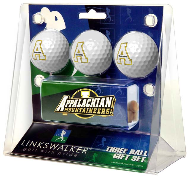 Appalachian State Slider Clip 3 Ball Gift Pack