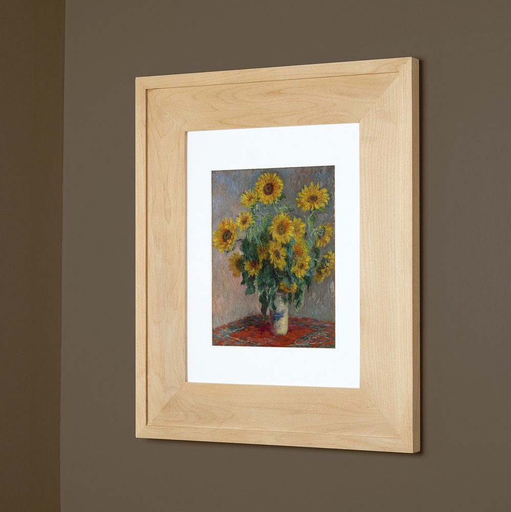 14x18 Unfinished 2 Picture Frame Medicine Cabinet A Recessed