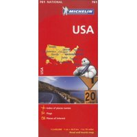 Michelin Usa Road Map: 9782067173279