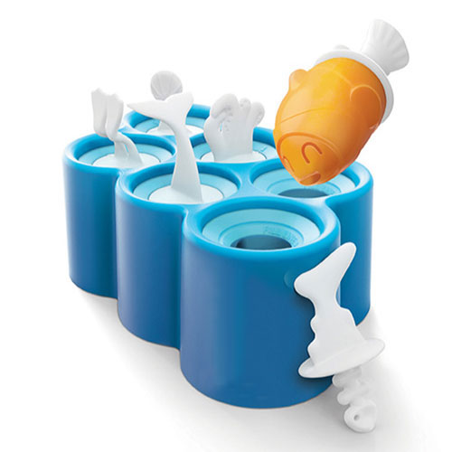 Universal Blue Ice Cube Tray Set [6pcs]