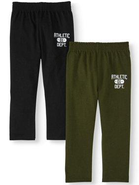 Garanimals Toddler Boy Graphic Jersey Pants, 2-Pack