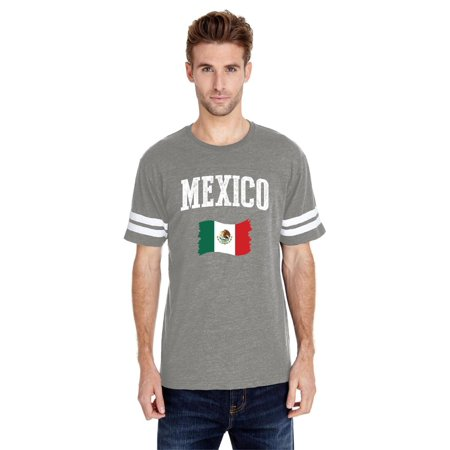 Mexico Men Football Fine Jersey Tee