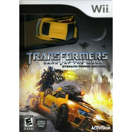 Transformers: Dark of the Moon - Stealth Force with car (Wii)