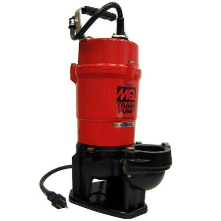 Multiquip St2040t 1 Hp 115 Volt 79 Gpm 2 Inch Suction Submersible Trash Pump