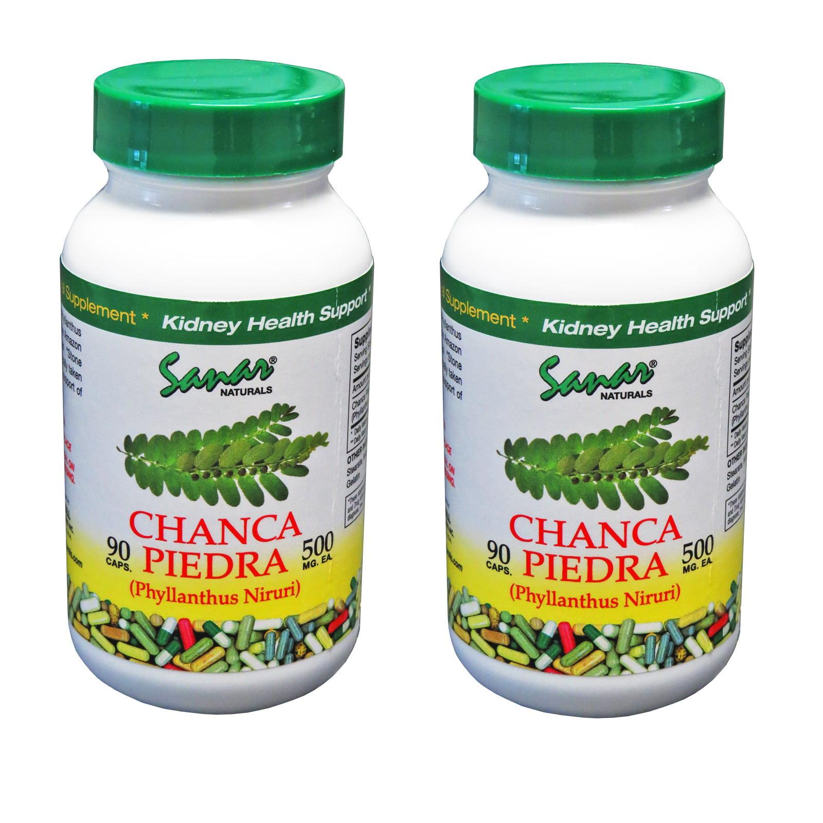 Sanar Naturals STONE BREAKER - Chanca Piedra - 2 PACK - Kidney Stone Crusher