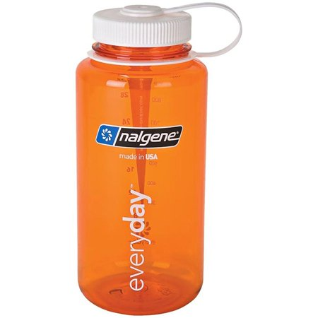Wide Mouth Bottle 32 oz Orange, Nalgene's bestselling water bottle for more than 20 years - Opening accommodates most water filters By -