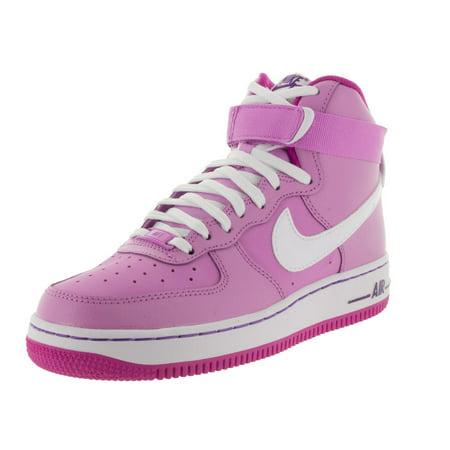 365c2f3614b9 Nike - Nike Kids Air Force 1 High (GS) Basketball Shoe - Walmart.com