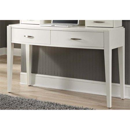 Liberty Furniture Avalon II Bedroom Vanity Desk in White Truffle