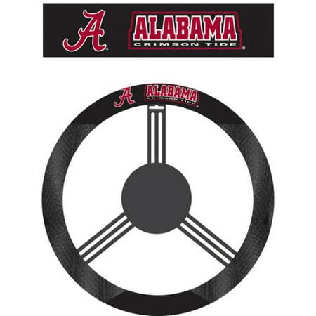 - NCAA Alabama Crimson Tide Poly-Suede Steering Wheel Cover