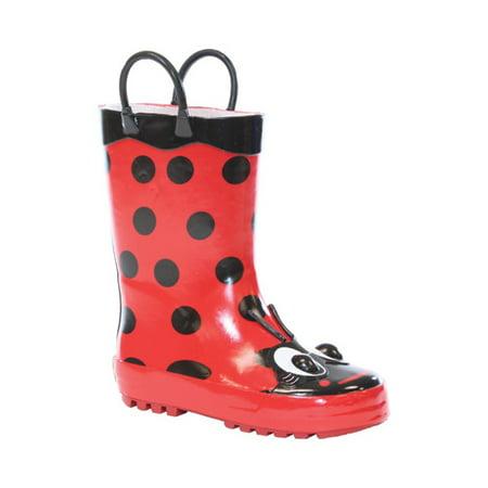 Infant Girls' Western Chief Ladybug Rain Boot