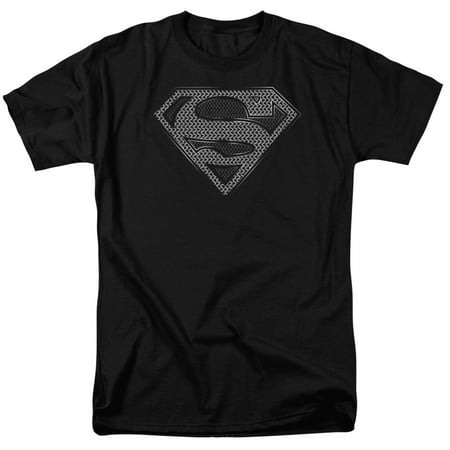 Unisex Chainmail - Superman DC Comics Chainmail Adult T-Shirt Tee
