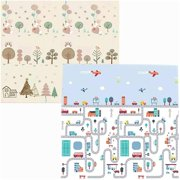 1cm Crawling Carpet Puzzle Toys for Chi Soft Floor Room Decor Activity Pad Gym Game Kids Rug Play Mat (Color : Road Size : 200CM*150CM)