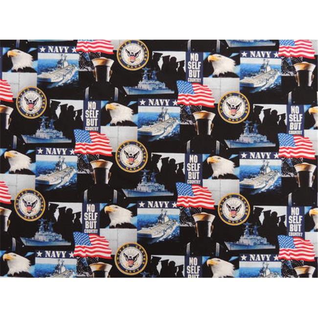 DecorDogz Galore D124L US Navy  Large Bandana - image 1 of 1
