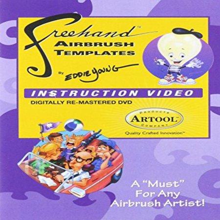 Artool Freehand Airbrush Template Instruction DVD