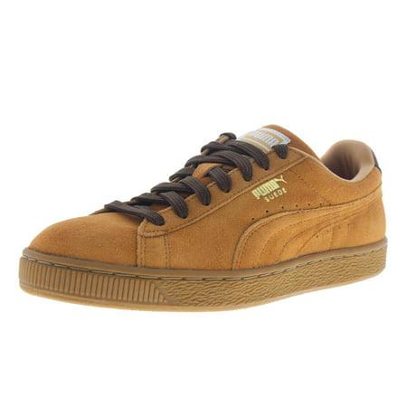 Puma Mens Classic Casual Suede Signature Sneakers