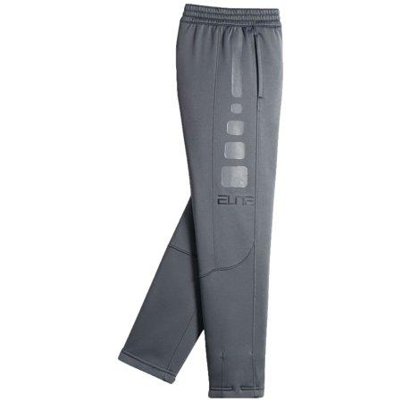 1cca8109ff99 ... Nike Boys Therma Elite Basketball Pants (Cool Grey Coolgrey Anth