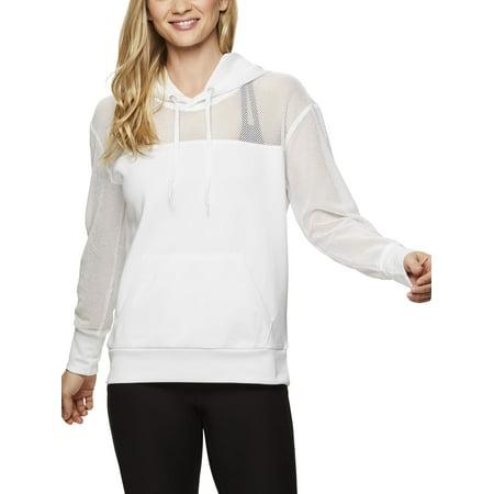 Women's Active Double Knit Mesh Hoody (Knit Hoodies For Women)