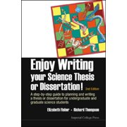 Enjoy Writing Your Science Thesis or Dissertation! - eBook