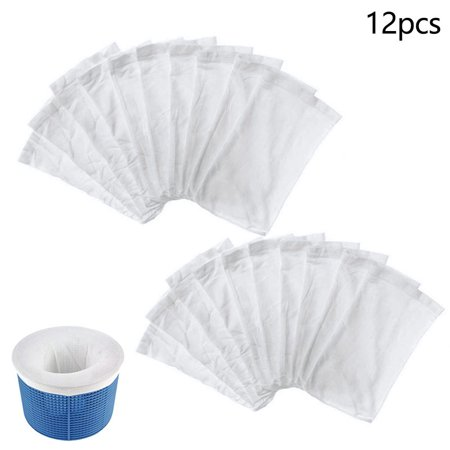 12 Pack Pool Skimmer Socks Filter Replacement Savers For Basket Swimming Pool Replacement Skimmer Pad