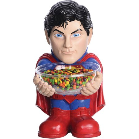 Superman Candy Holder Halloween - Halloween Candy Bucket