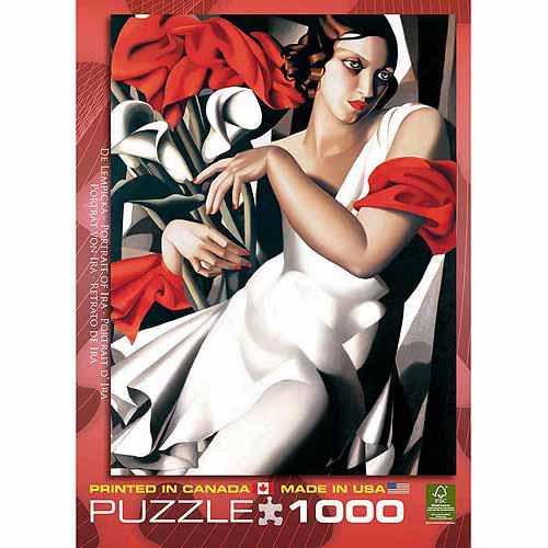 EuroGraphics Portrait of Ira by Tamara de Lempicka 1000-Piece Puzzle