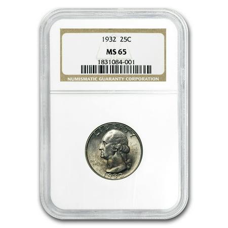1932 Washington Quarter MS-65 (Washington Quarter Ngc Mint)