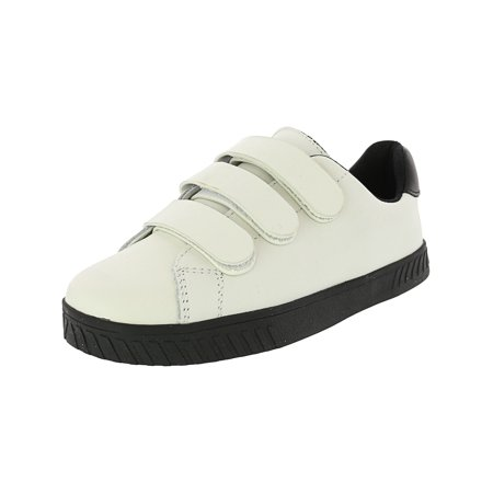 Over Black Leather - Tretorn Women's Carry 2 Leather Vintage White / Black Ankle-High Fashion Sneaker - 9.5M
