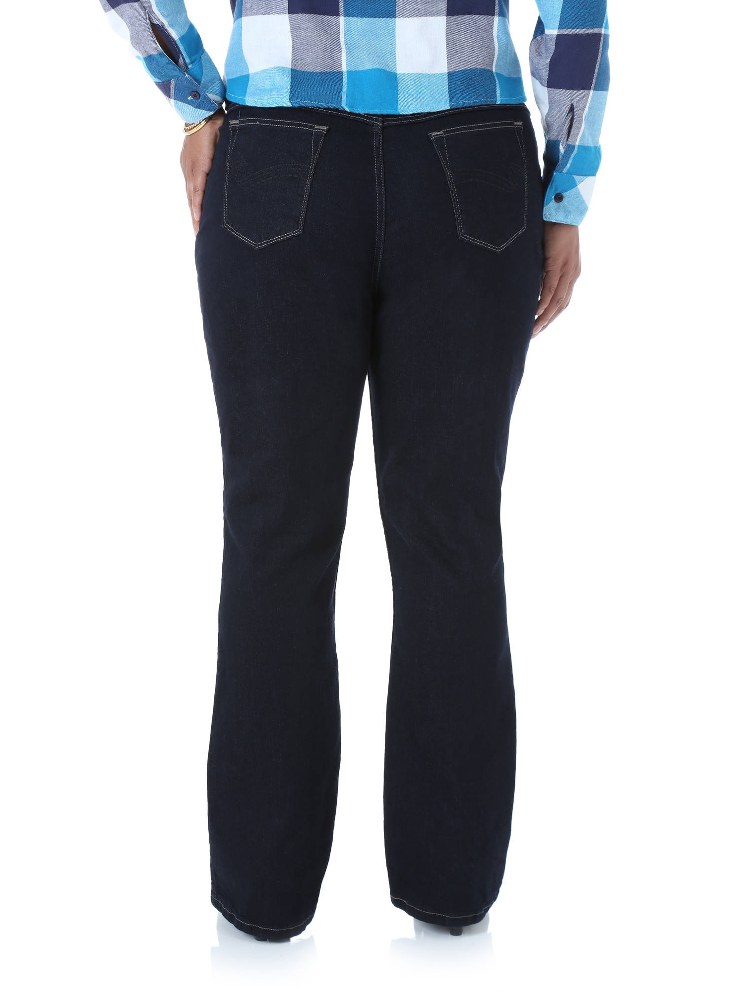 19813a19 Lee Riders - Women's Plus-Size Classic Fit Straight Leg Jeans - Walmart.com