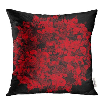 - YWOTA Orange Beautiful Flowers Ornamental in the Shape of Sphere Based on Own Pink Ball Pillow Cases Cushion Cover 18x18 inch