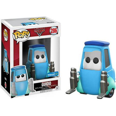 Funko POP! Disney: Cars 3, Guido, Walmart Exclusive