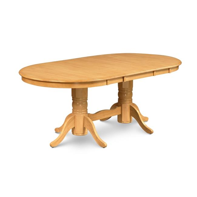 Mu0026amp;D Furniture SOT OAK TP Somerville Oval Shaped Dining Table With