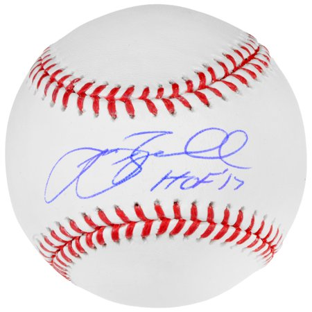 Jeff Bagwell Houston Astros Fanatics Authentic Autographed Baseball with HOF 17 Inscription - No Size