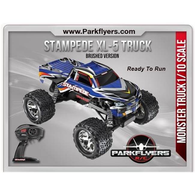 ParkFlyers 36054-1 Traxxas 1-10 Stampede XL-5 2.4GHz RTR ...