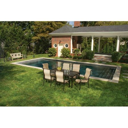 Hanover brigantine 7 piece outdoor dining set walmart hanover brigantine 7 piece outdoor dining set aloadofball Images